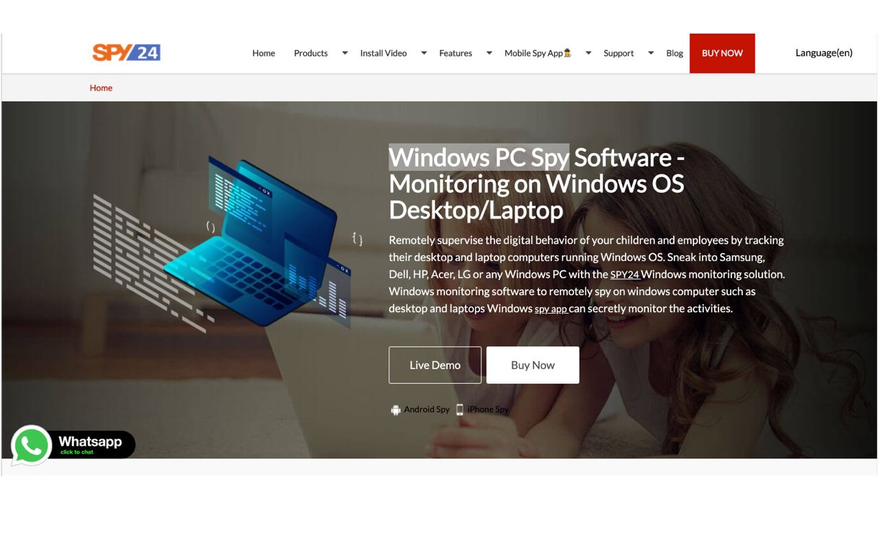MONITOR A PC REMOTELY WITH A SPY SOFTWARE PROGRAM